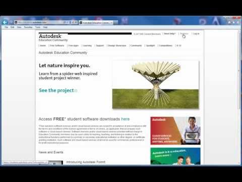 Free Autodesk Software at the Autodesk Education Community - YouTube