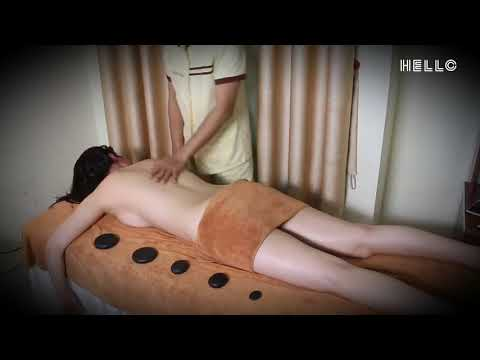 How To Hot Stone Massage With Oil - Relax & Ease Tense Muscles Soft Tissues #2