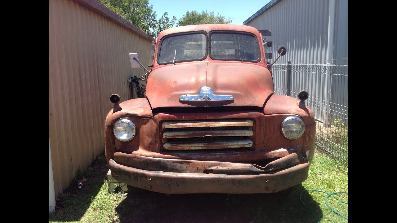 1954 Bedford Ta2 Light Truck Recommisioning Youtube