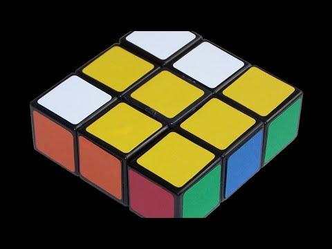 Плоский кубик Рубика