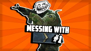 CS:GO Messing With Silvers! #1