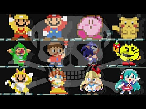 Super Mario Maker: All 153 Costume TAUNTS and DEATH Sounds/Themes (Mystery Mushroom Suits)