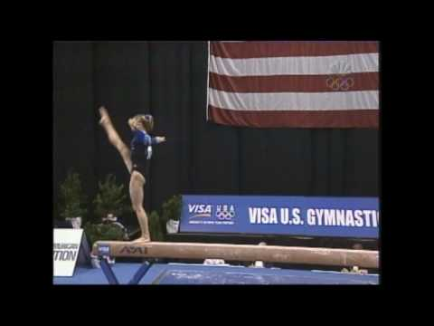 Courtney Kupets - Balance Beam - 2004 U.S. Gymnastics Championships - Women - Day 2