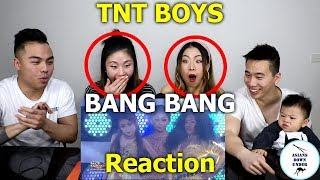 TNT Boys as Jessie J., Ariana Grande, & Nicki Minaj | Bang Bang | Reaction - Australian Asians