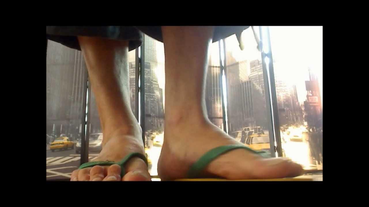 Male Feet  Flip Flops - Youtube-4140