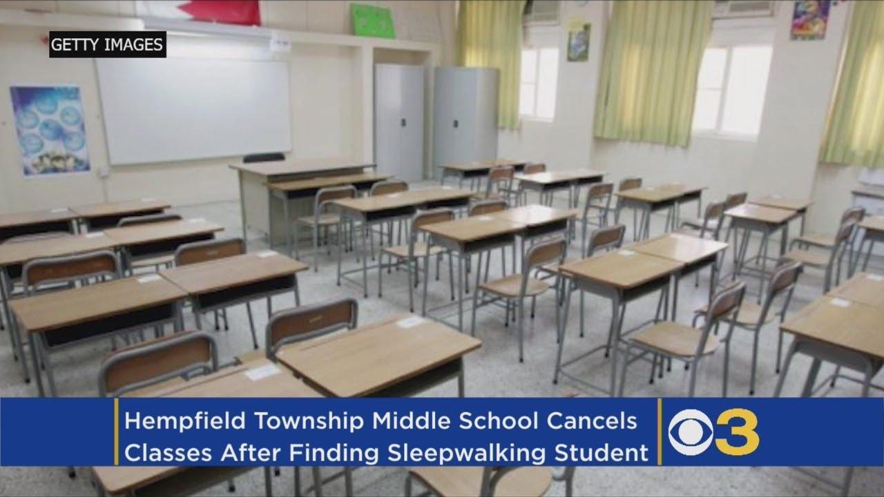 Sleepwalking Student Causes School To Cancel Classes
