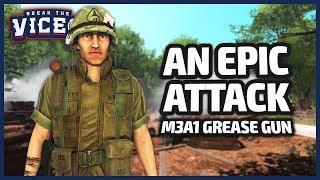 AN EPIC ATTACK!   Rising Storm 2: Vietnam Gameplay (M3A1 Grease Gun)