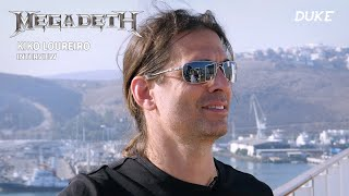 Megadeth - Interview Kiko Loureiro - MegaCruise 2019, Mexico - Duke TV [PT-FR-DE-ES-IT-RU Subs]