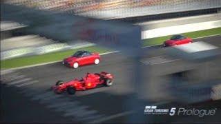 GT5: Prologue - I Challenge You! - F1 Ferrari F2007 Race