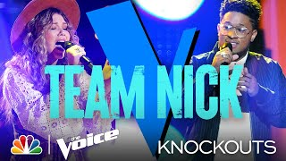 Kelly and John Are Moved by Rachel Mac and Zae Romeo's Performances - The Voice Knockouts 2021