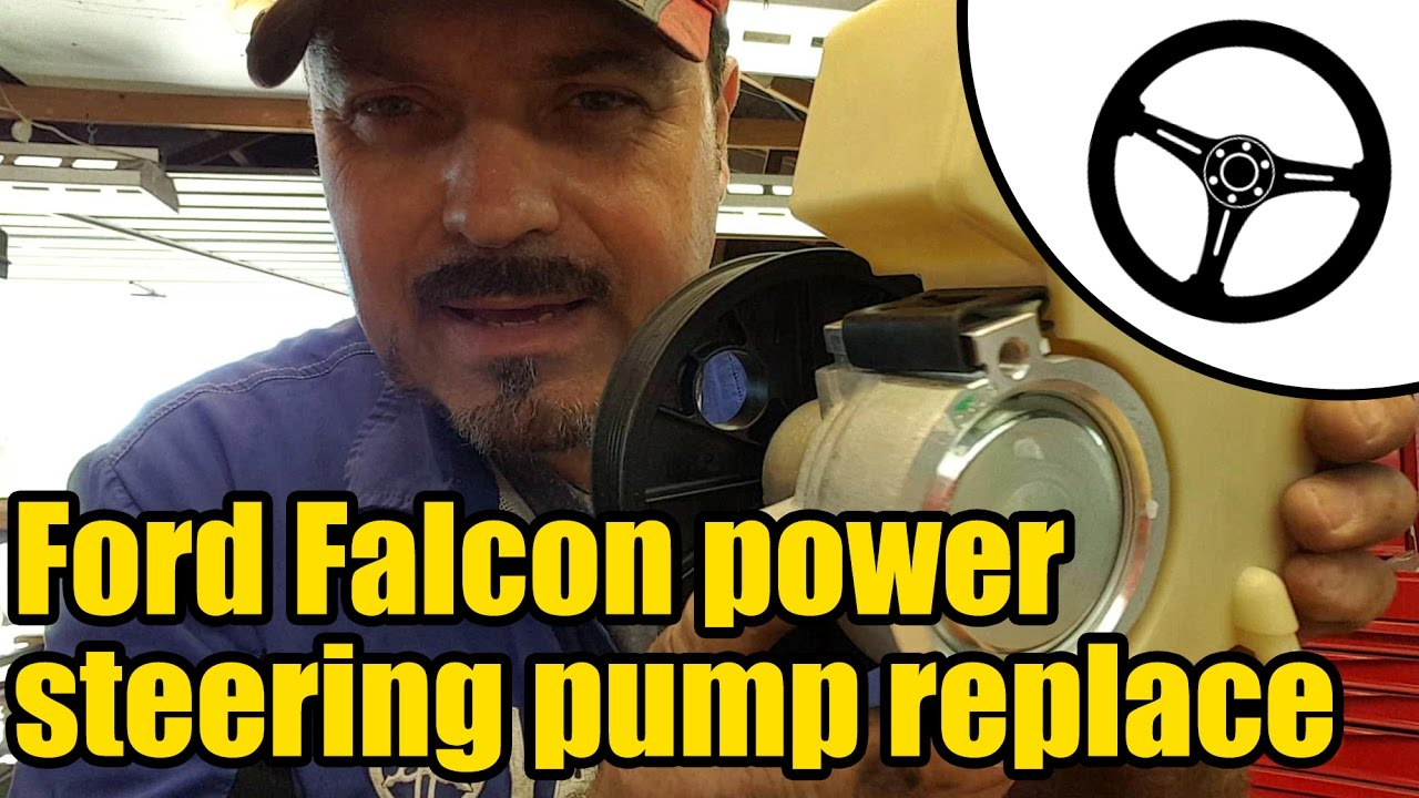 Ford Falcon Xr6 Power Steering Pump Replacement 1503 Youtube So Is This Basically A Rebuild