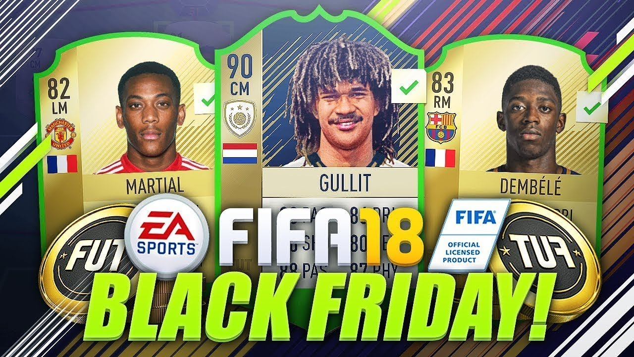 Black Friday Fifa 18