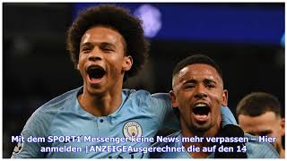 Champions League, Achtelfinale: Schalke unterliegt Manchester City, Leroy Sane trifft