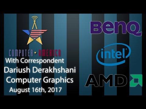 Dariush Derakhshani, CGI Expert, Talks AMD, Intel, BenQ Monitor