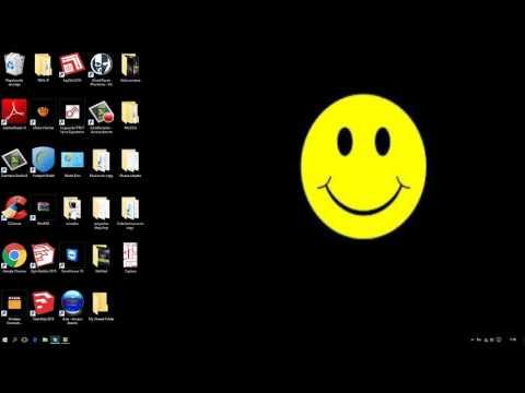 Agrandar y achicar los iconos del escritorio  windows 7. 8, 8.1, 10,