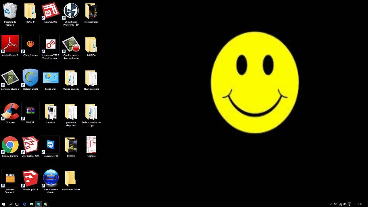 Agrandar y achicar los iconos del escritorio windows 7 8 - Iconos para escritorio windows ...