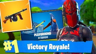 Fortnite-MODE PLAYGROUND & NEW WEAPON-CHAMPIONSHIP 1x1! NEW SKINS TOMORROW? -Soils & Squads