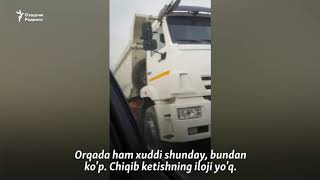 Ҳайдовчи: Кечки овқатимни заправкага олиб келиб беринглар