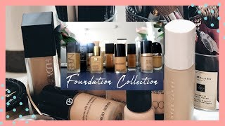 Foundation Collection 2019 + My Top 4 Favorite Foundations