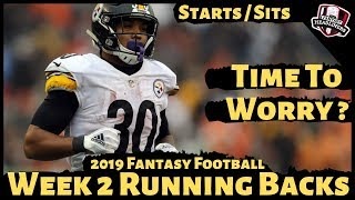 2019 Fantasy Football Advice - Week 2 Running Backs - Start or Sit? Every Match Up