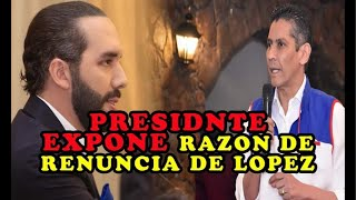 ASÍ REACCIONA Nayib Bukele por RENUNC1A de Gustavo López | nuevo presidente de ARENA