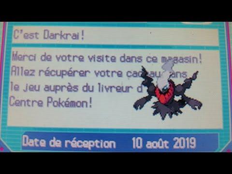 Avoir Tous Les Events En Ligne Sur Pokemon Noire Et Blanc.