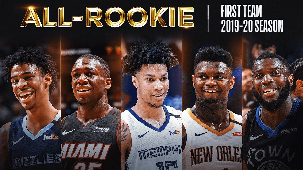 Best Of The 2019-20 NBA All-Rookie First Team!