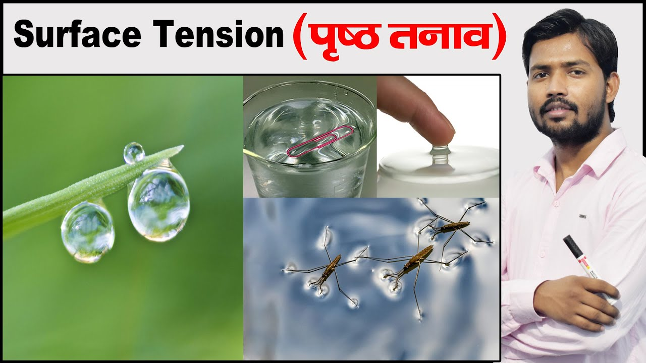Surface Tension | Examples of Surface Tension | Fluid Mechanics | Physics by Khan Sir