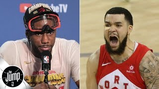 Kawhi Leonard got every NBA Finals MVP vote, except the one that went to Fred VanVleet | The Jump