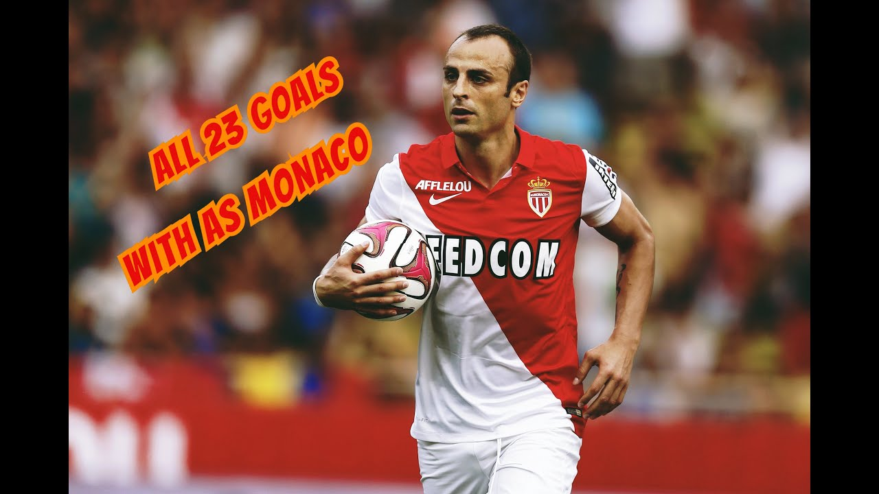 All 23 goals with As Monaco Dimitar Berbatov