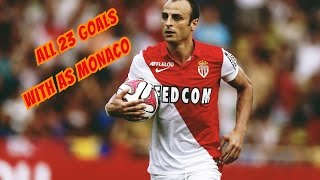 All 23 goals with As Monaco - Dimitar Berbatov