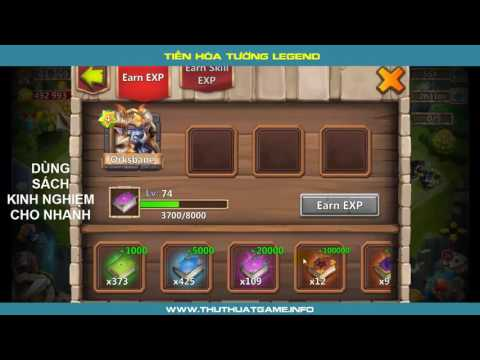 How To Evolve A Hero! Castle Clash