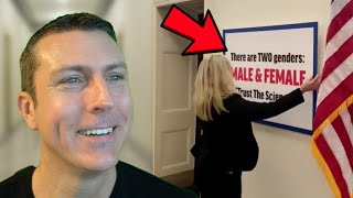 Marjorie Taylor Greene's New Sign Causes Democrats To Lose It