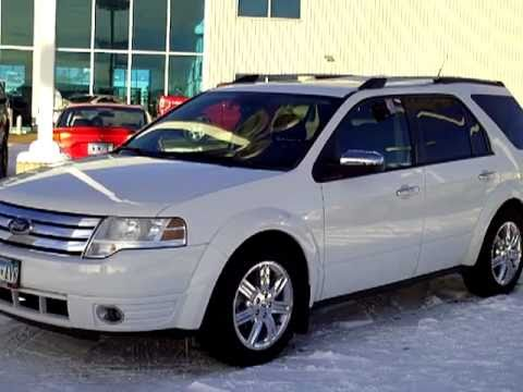 2008 Ford Taurus X Limited Awd Youtube