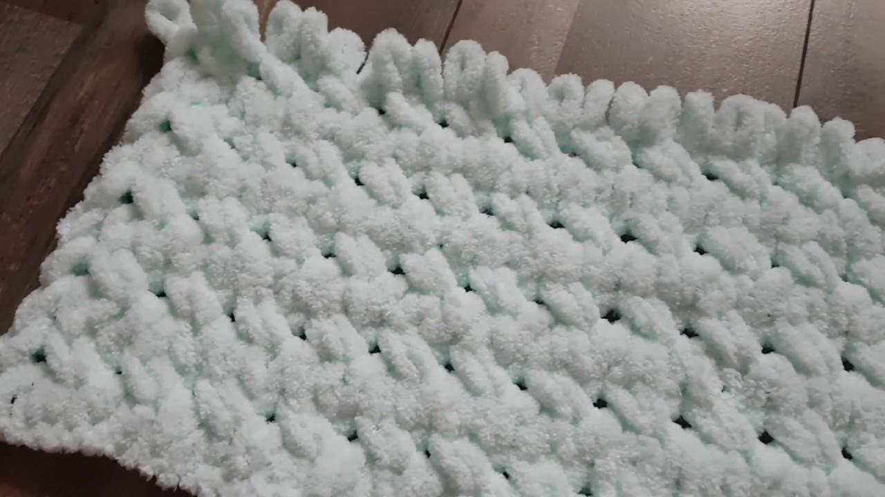 b274f2942 Alize Puffy - návod na deku -nový vzor - YouTube