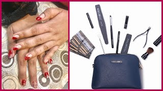 Modelones Nail Art Tool Set With Shoulder Bag || Review || Fitness And Lifestyle
