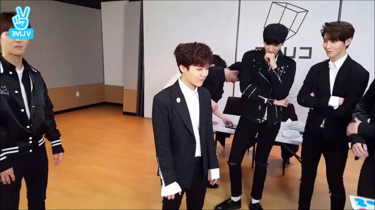PENTAGON Funny Clip #86 - Must protect the shattered image of the beloved hyung