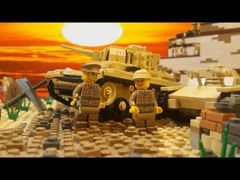 Lego WW2 North Africa MOC - Cinematic Video