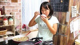 毎週金曜は英奈の料理 #23 定番のチキンと珍しく野菜炒め&味噌汁英奈