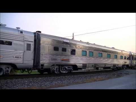 NS 957 (BNSF OCS Train) at Georgetown, Indiana