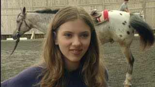 flashback a 13 year old scarlett johansson on horseback riding lessons i didnt know what i wa…