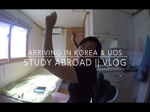 Arriving in Korea & University of Seoul || Korea Study Abroad VLOG