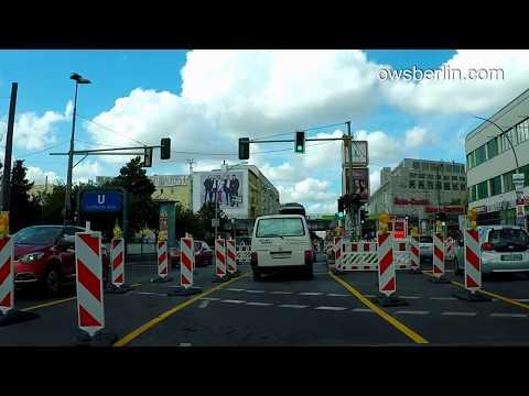 Driving in Berlin 2017: Marzahn - Westend. Авто прогулка по Берлину: Марцан - Вестенд.
