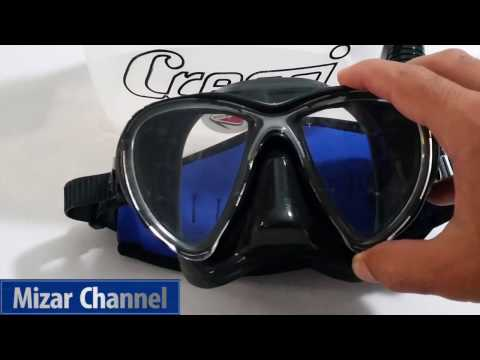 Maschera Cressi Big Eyes Evolution Mask & Snorkel Dry - Video Review Recensione