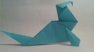 Origami - How To Make An Easy Walrus