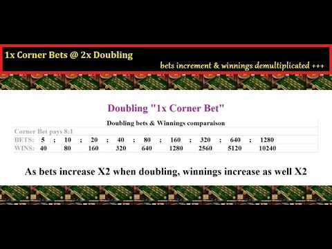 Roulette Doubling Strategy