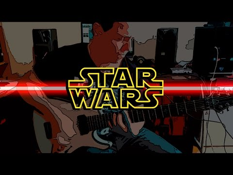 """Star wars metal guitar cover """"Duel of the fates"""""""