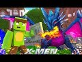 BRUNO TURNS INTO A DRAGON!!! - Minecraft X-Men