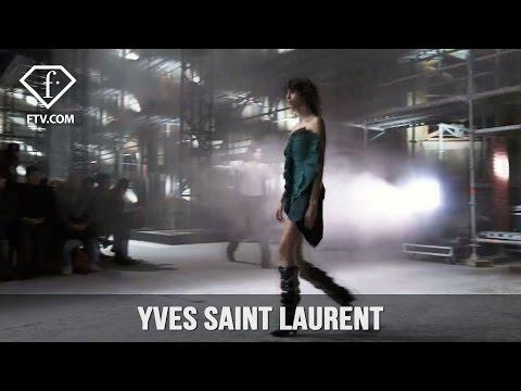 Paris Fashion Week Fall/Winter 2017-18 - Yves Saint Laurent | FashionTV