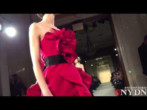 Marchesa Fashion Week in Slow Motion